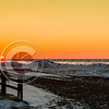 Presque Isle Beach 7 Frozen Sunset 1