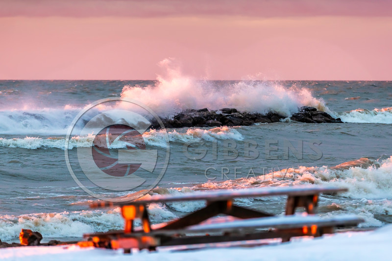 Presque Isle Winter Waves 3