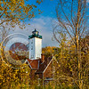 PI Lighthouse Fall Sunny Angle