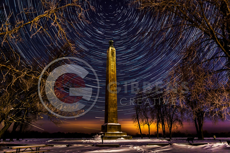 Perry Monument Stars