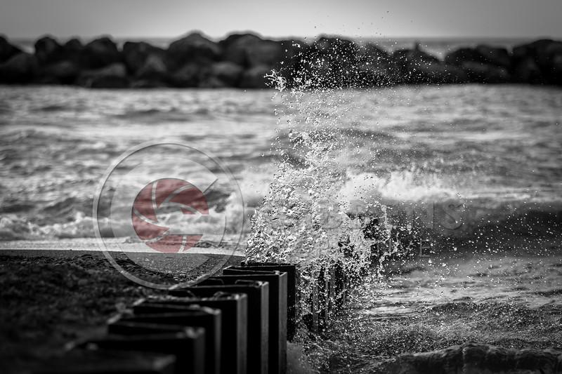 Presque Isle Winds B&W