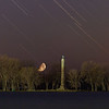 Perry Monument Moon Set