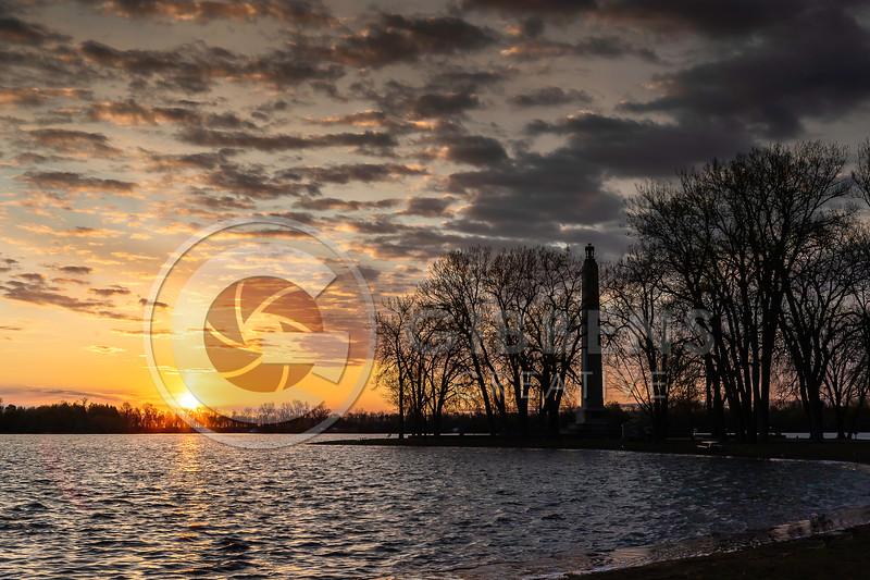 Perry Monument Sunrise 2020