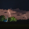 Perry Monument Lightning 2021