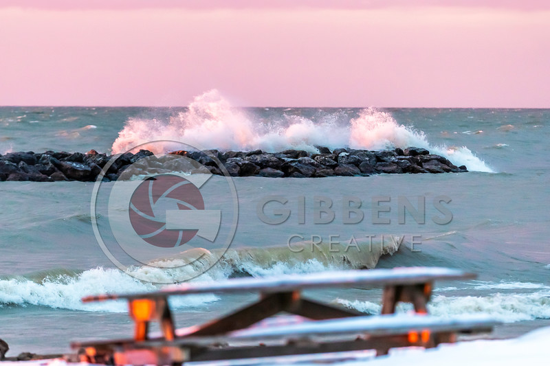 Presque Isle Winter Waves 4