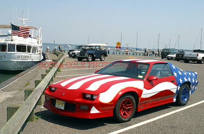 American Flag Car, Sag Harbor