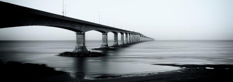 Confederation Bridge, from Cape Jourimain, NB