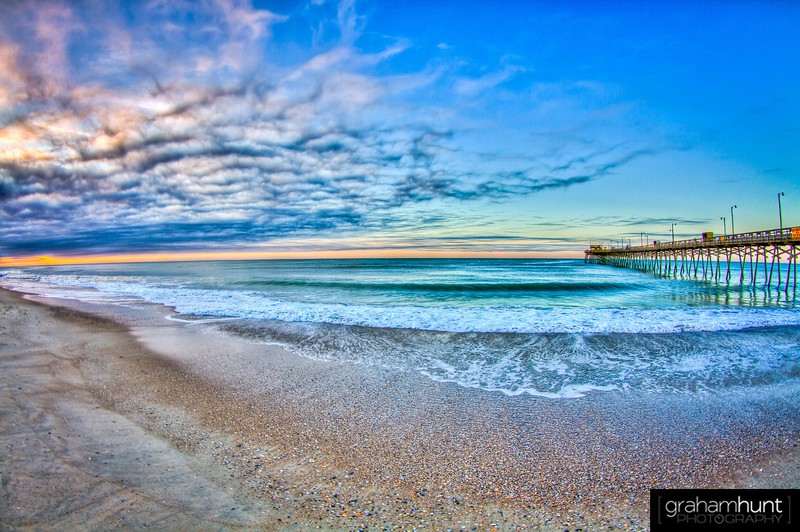 Bogue Inlet Pier Sunrise