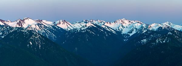 Panoramic View of Hurricane Ridge