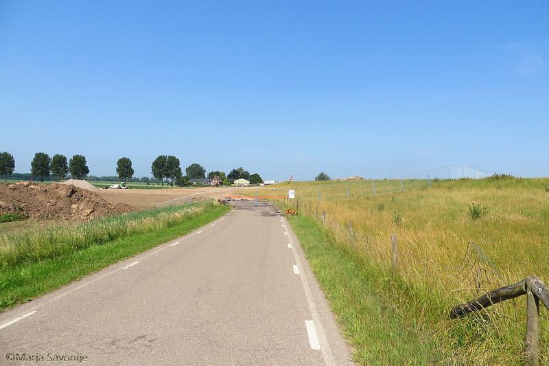 De weg is weg, en ook de route naar mijn speurveld