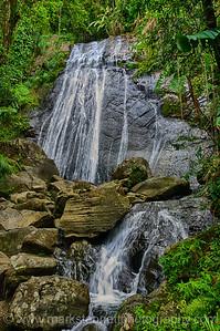 La Coca Falls, El Yunque National Rain Forest Puerto Rico