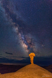 Secret Spire and The Milky Way vertical