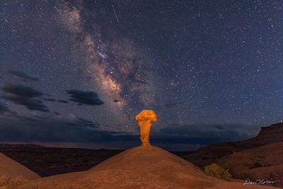Secret Spire and The Milky Way horizontal