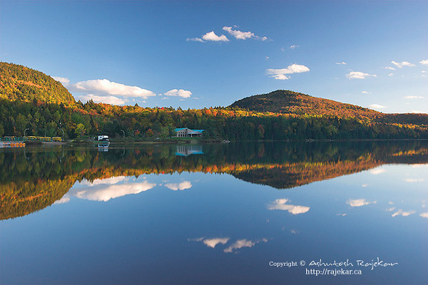 Fall over Lac Monroe in Parc National du Mont Tremblant