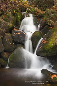 Acropole des Draveurs Falls in Parc National des Hautes-Gorges-de-la-Riviere-Malbaie.