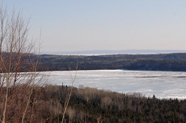 Quetico Provincial park and northshore MN feb 2008