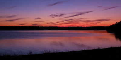 Sunset over Quitticas