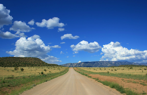 """The road to Lone Tree""  New Mexico"