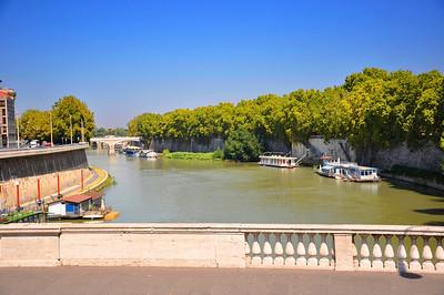 River Tiber-Rome, Italy