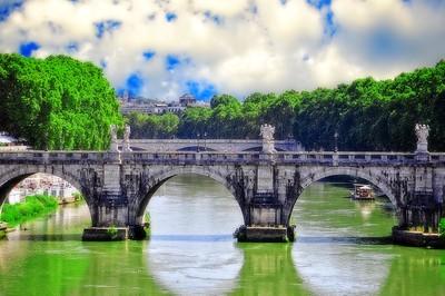 Tiber River-Rome, Italy