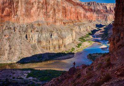 Looking over Colorado River