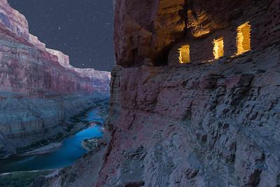 Puebloan Granaries_Night