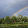 Double Rainbow over Malletts Bay in Colchester, VT<br /> 8/22/2011