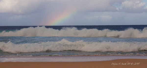 Rainbow Over Pipeline