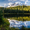 3408  G Rainier Evening Reflection Sharp