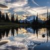 2065  G Mt  Rainier and Tipsoo Lake Sunset