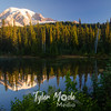 3496  G Rainier Morning Reflection