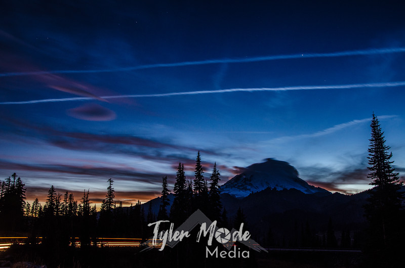 2163  G Rainier and Contrails Car Sharp