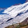 2381  G Hiker and Emmons Glacier