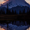 2130  G Mt  Rainier and Tipsoo Lake Sunset V
