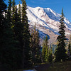 2241  G Rainier and Snow on Trail V