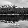 2652  G Rainier Reflection Lakes 10 4 14 Sharp BW