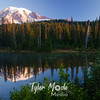 3489  G Rainier Morning Reflection