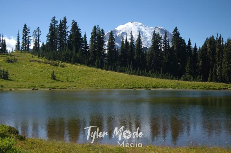 392  G Tipsoo Lake and Rainier