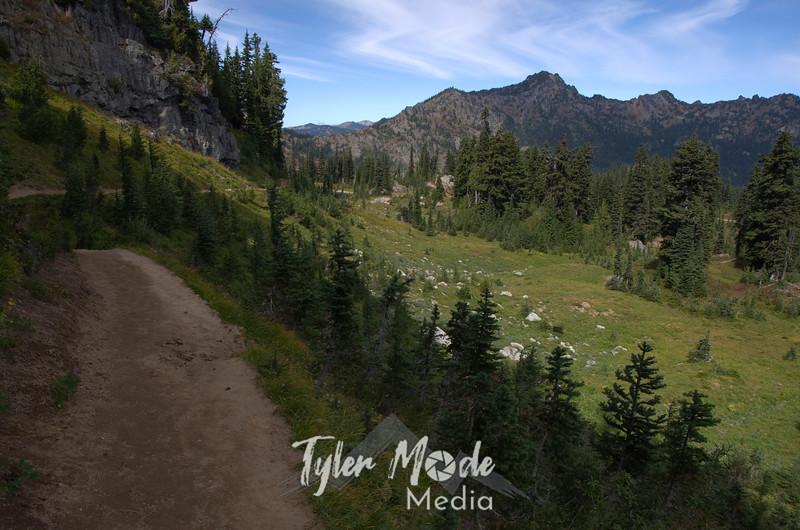 291  G Naches Peak Trail View North