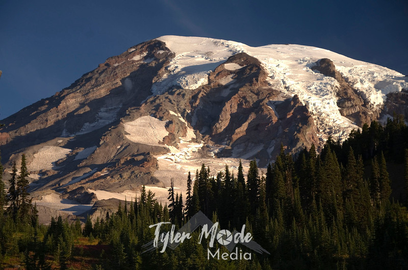 1592  G Rainier Fall Sunrise Close