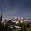 1515  G Rainier and Paradise Inn Night