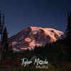 1557  G Rainier Fall Sunrise