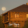 1368  G Harvest Moon at Sunrise Building