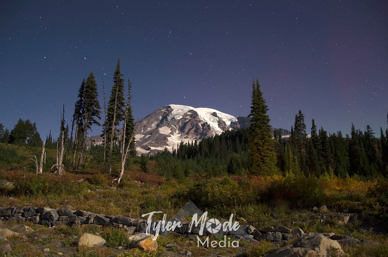 1497  G Rainier Night Fall