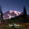 1541  G Rainier Fall Sunrise
