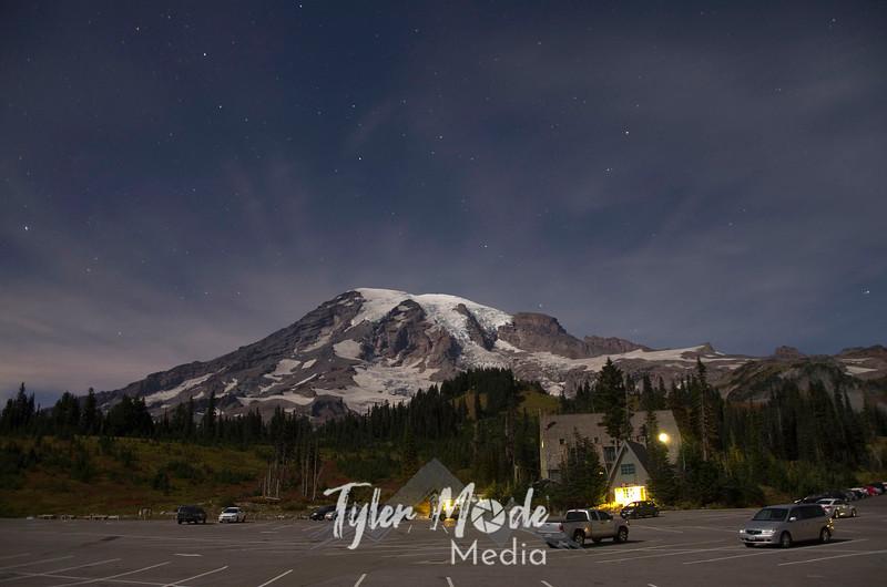 1505  G Rainier and Parking Lot Night