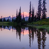 287  G Rainier Morning Upper Tipsoo Lake V