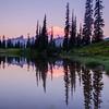 287  G Rainier Morning Upper Tipsoo Lake V