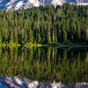 346  G Rainier Reflections Lake Deer V