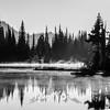 340  G Refleciton Lakes Fog BW